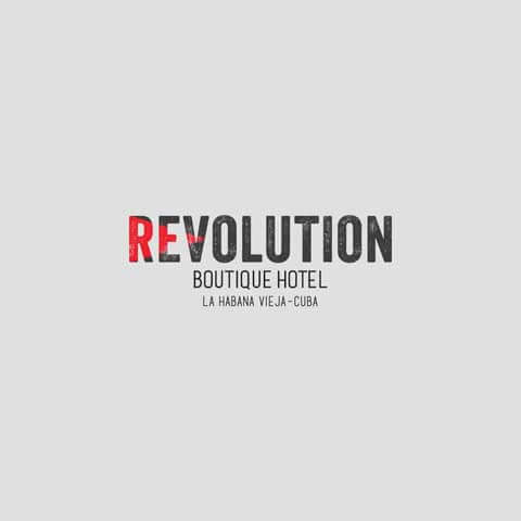 diseño folleteria revolution hotel